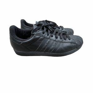 Adidas originals shell tops black sneakers men's12